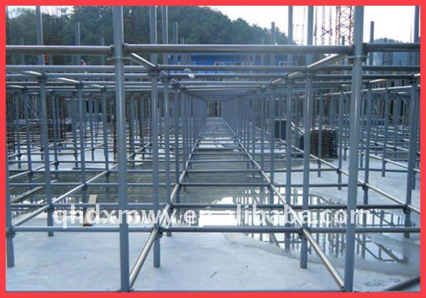 Mobile and Quick Ringlock Scaffolding Structure