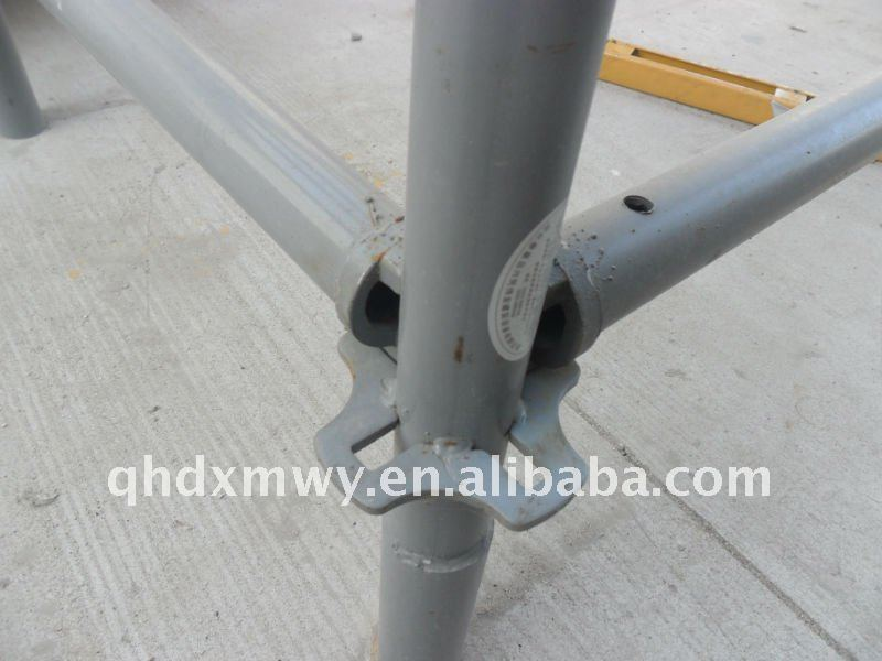 Vertical Standards Scaffold props with Round Plate