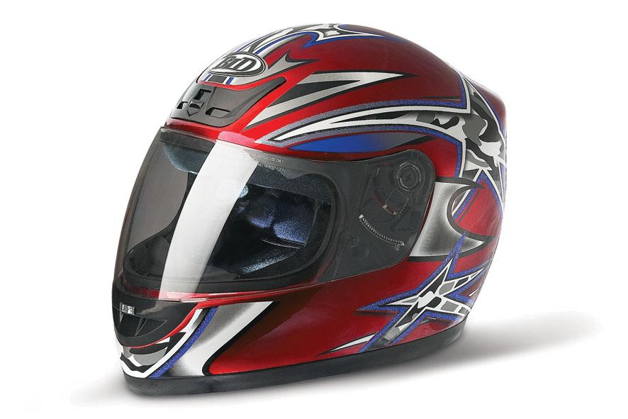 百利得616摩托车头盔高清图片
