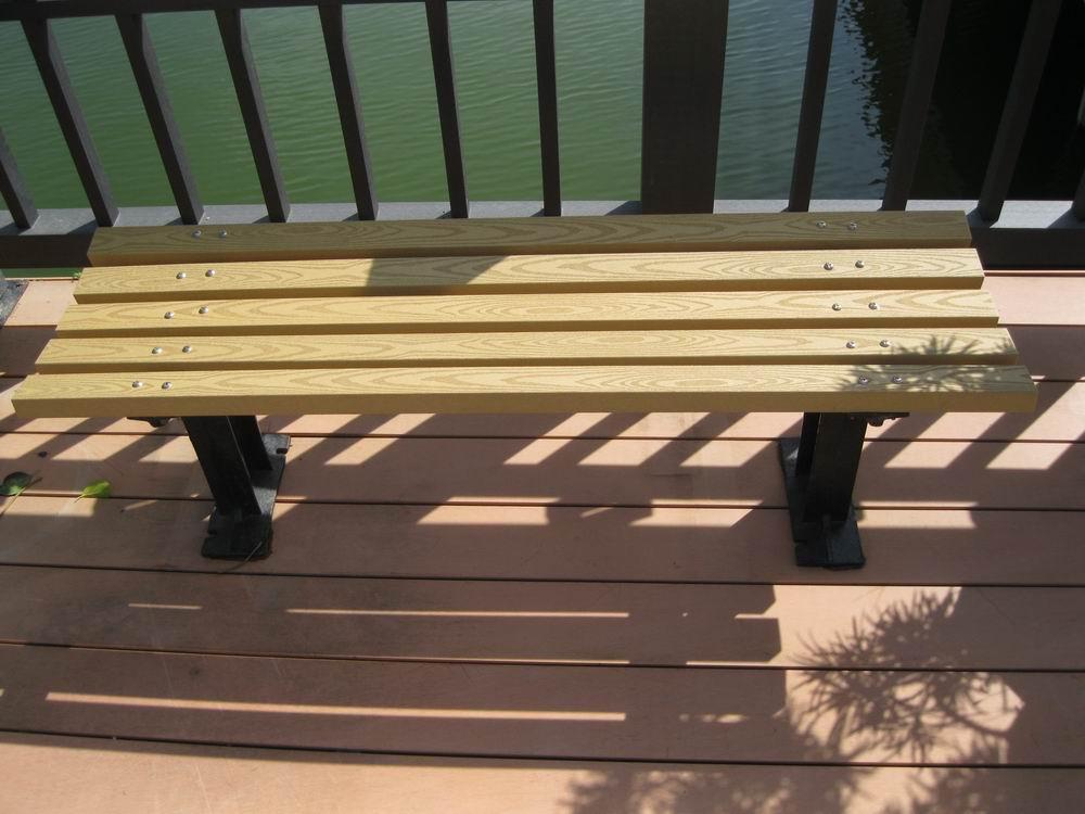 华龙生态木椅子