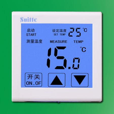 suittc温控器 8817系列 电采暖温控