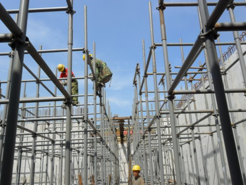 Quick Scaffolding for Conctete Construction Formwork Support
