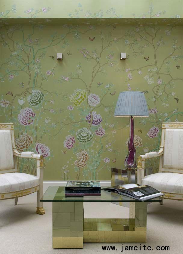 淡绿色系卧室装修图片