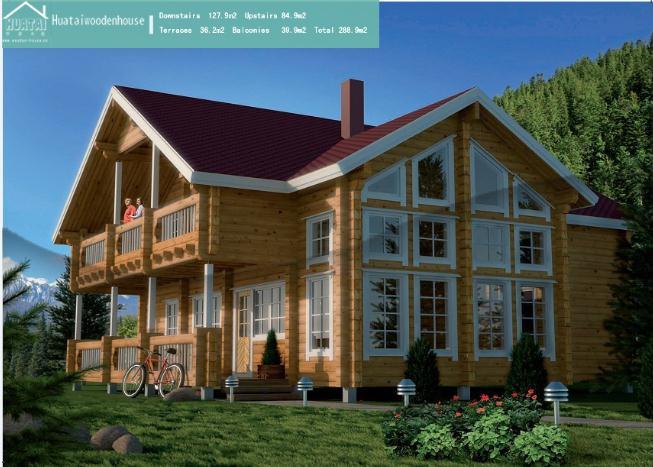 欧式小木屋图片