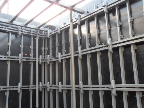 Construction Scaffolding system for Wall Formwork