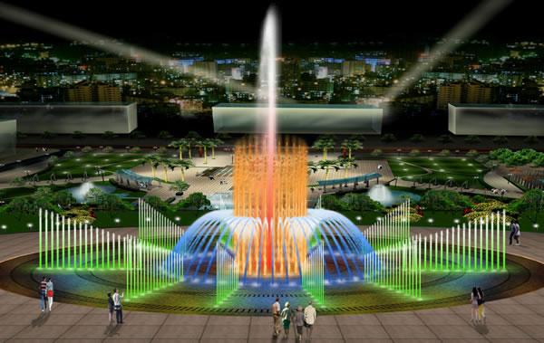 博利尔四川成都水景喷泉专业设计工程公司图片