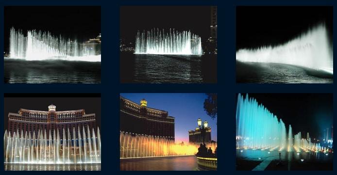 激光水幕电影: 采用特殊的投影机播放,使用的影片也是专门为水幕电影特制的影带。由于电影的屏幕是透明的水膜,因此在电影播放时会有一种特殊的光学效果,屏幕的视觉穿透性可使画***有一种立体的感觉,影片的内容可与水面巧妙的结合,更有一种身临其境般的奇幻感觉。水幕电影是通过高压水泵和特制水幕发生器,将水自下而上,高速喷出,雾化后形成扇形银幕,由专用放映机将特制的录影带投射在银幕上,形成水幕电影。当观众在观摩电影时,扇形水幕与自然夜空融为一体,当人物出入画面时,好似人物腾起飞向天空或自天而降,产生一种虚无缥缈