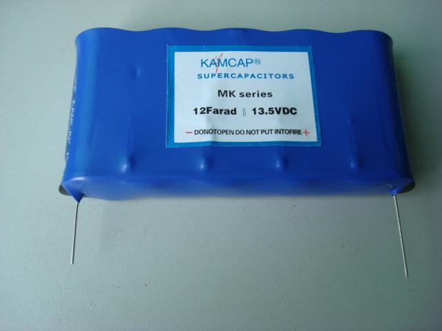 Fala capacitance / super capacitor module, module 13.5V-12F