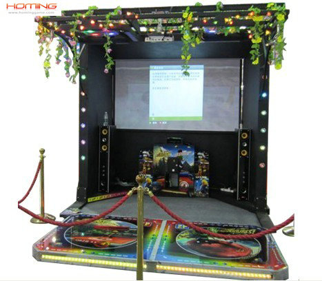 Kinect Adventures arcade video game machine
