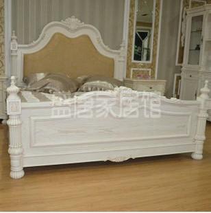 仿古家具381欧式实木床