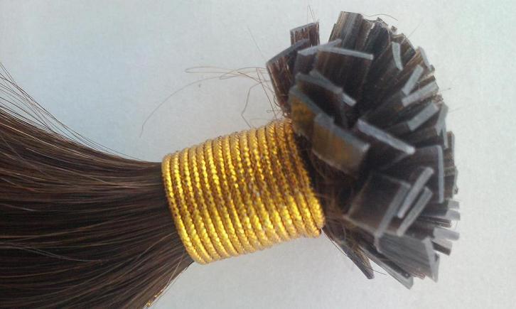 Flat hair extensions
