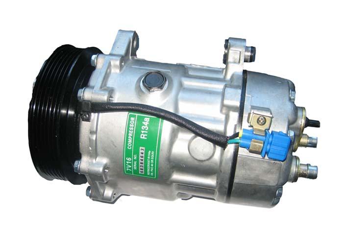 dy7v16汽车空调压缩机