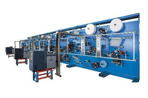 Servo Rewinding Sanitary Napkin Machine (HNJX-WSJ500)