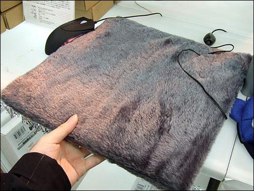 USB warmth cushion