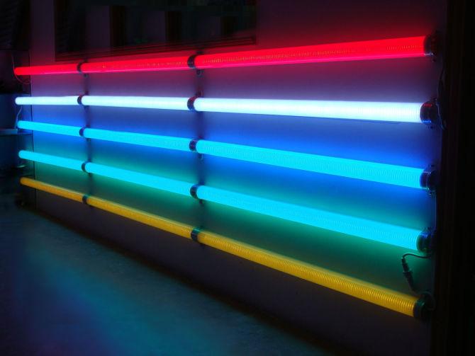LED Outdoor Colorful Digital Tube