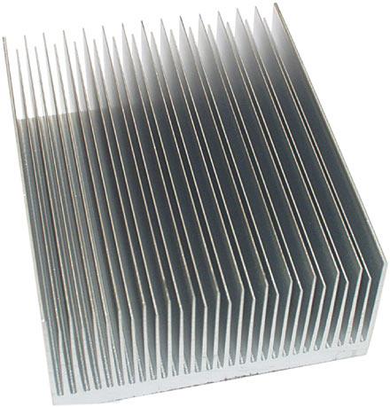 Aluminium fins