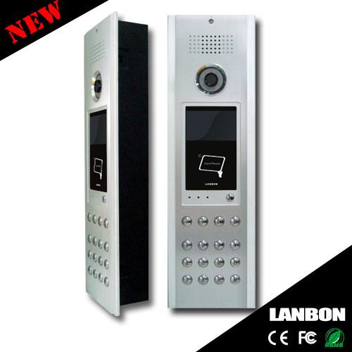 IP Video Intercom Doorphone for Single Houses/Apartments