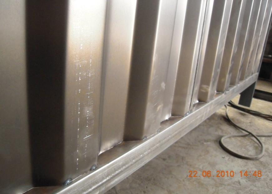 波纹钢腹板h型钢波浪钢腹板h型钢激光跟踪自动焊接 价格:100