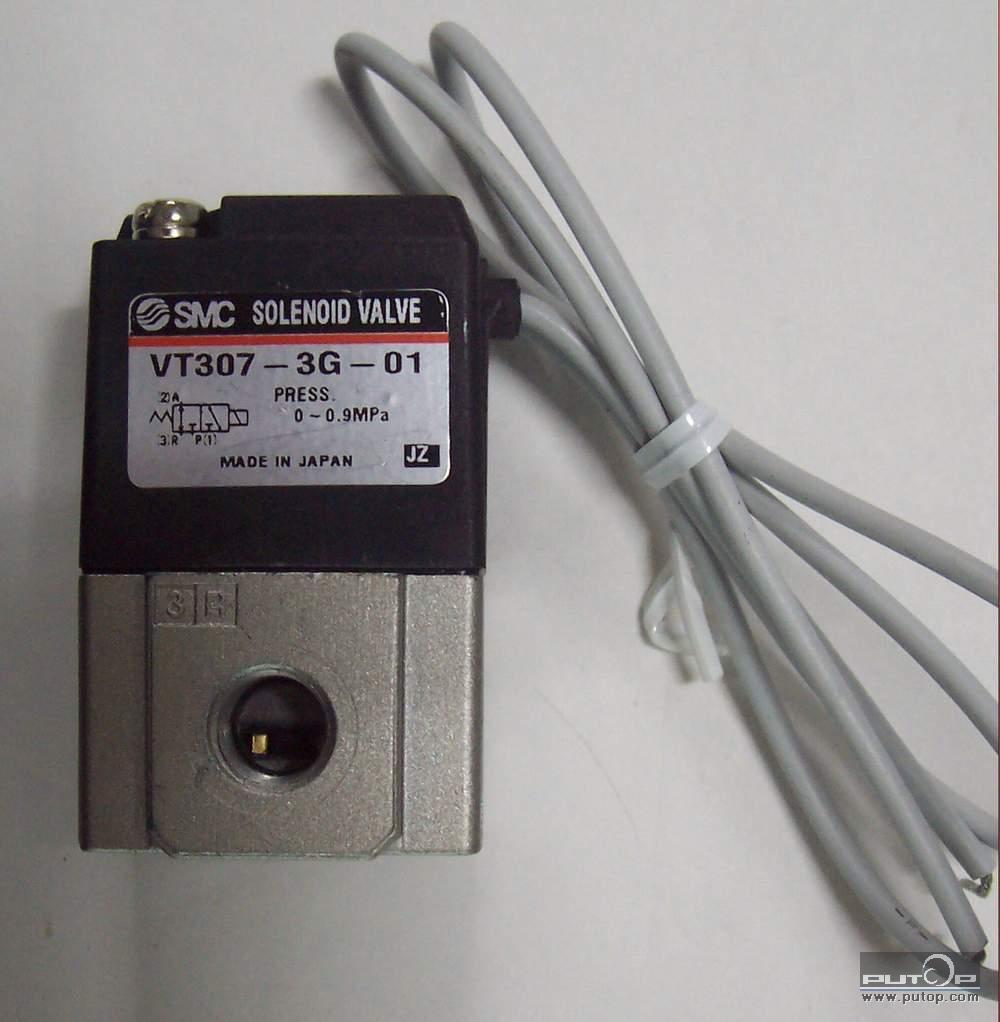 smc 电磁阀vt307-5g-01图片