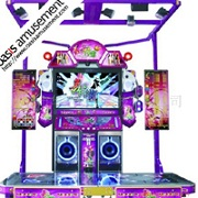 dancing game mchine and game machine