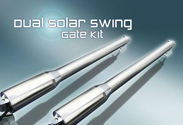 Solar Automatic swing gate opener