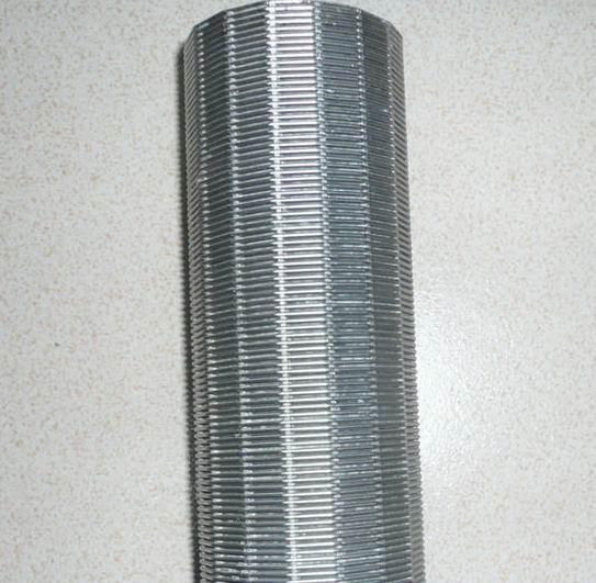筛丝和支撑条的规格 筛丝 底(mm) 1.0 1.2 1.5 2.3 3.0 高(mm) 2.0 2.2 2.5 3.5 4.6 支撑条 圆丝 底(mm) 2.3 2.3 3.0 3.7 3.3 直径 高(mm) 2.7 3.5 4.6 5.6 6.3 0.25-0.5mm 缝隙精确,过滤精度高;结构坚固,使用寿命长,耐高温,耐腐蚀,机械性能好,强度高,承载能力大,减少磨损 QQ 605213585 TEL 15833180373