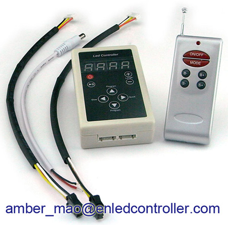 Programmable RF Dream color LED controller