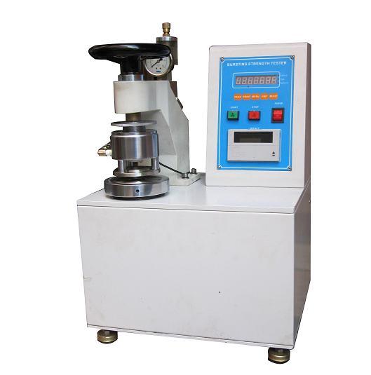 HD-6006A电子式手动破裂强度试验机 价格:8669元