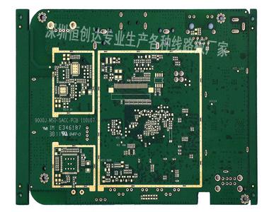 层平板电脑pcb电路板