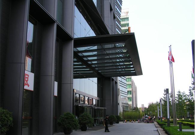 华良上海钢结构雨棚 价格:6000元/吨
