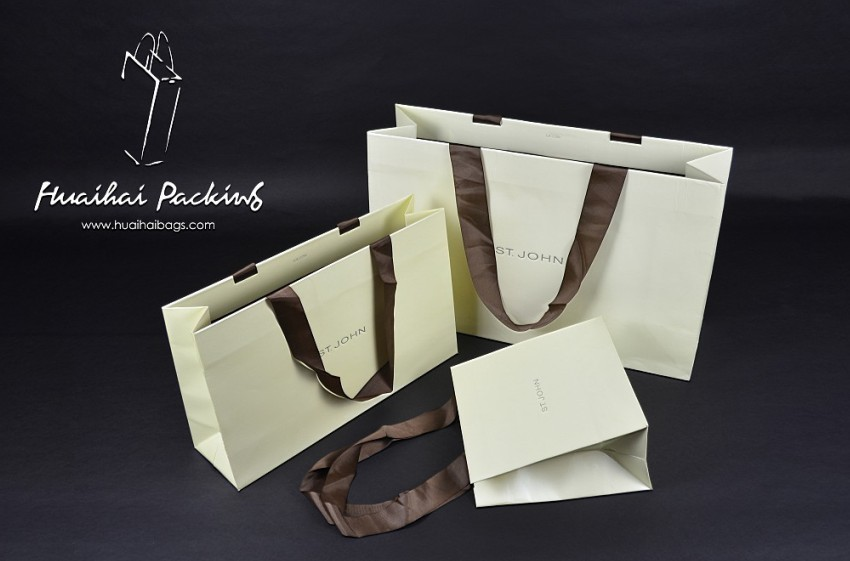 st.john奢侈品购物袋 包装袋 价格:1元/pcs