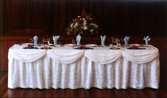 Table Skirts & Clips | Tablecloths | Table Skirting Clip