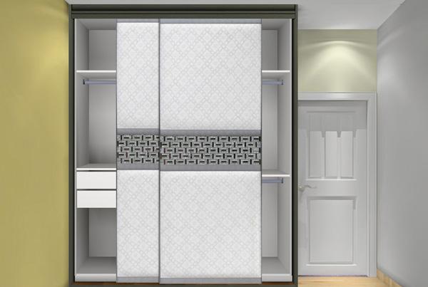 高博軟包移門衣柜 定做實木衣柜 價格:1207元/平方米