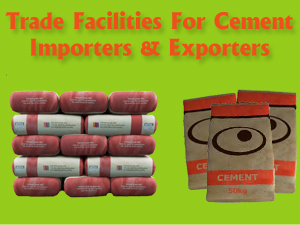 Get Trade Finance Facilities for Cement Traders