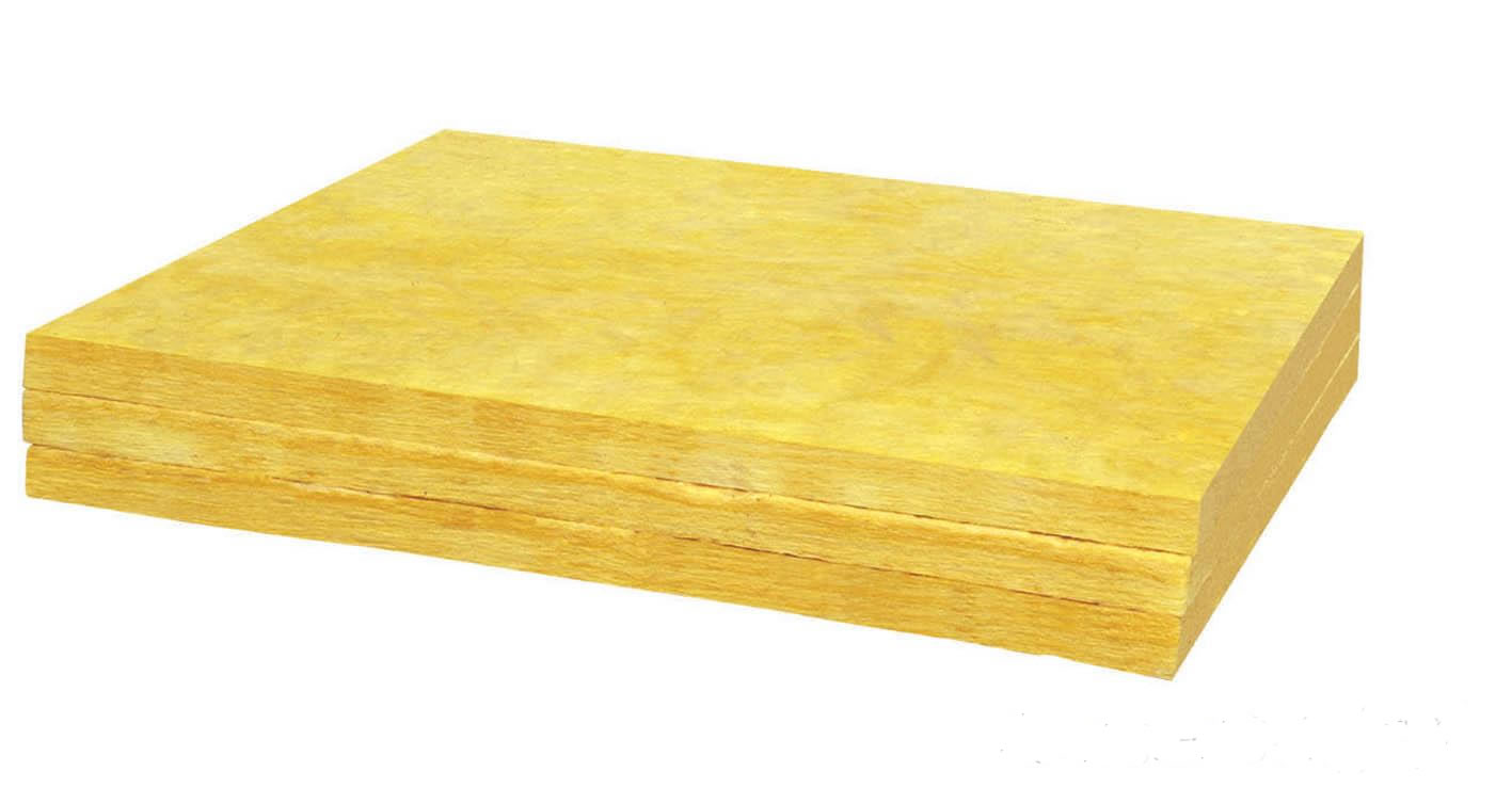 Lightweight fiber glass wool insulation board for Rockwool insulation board