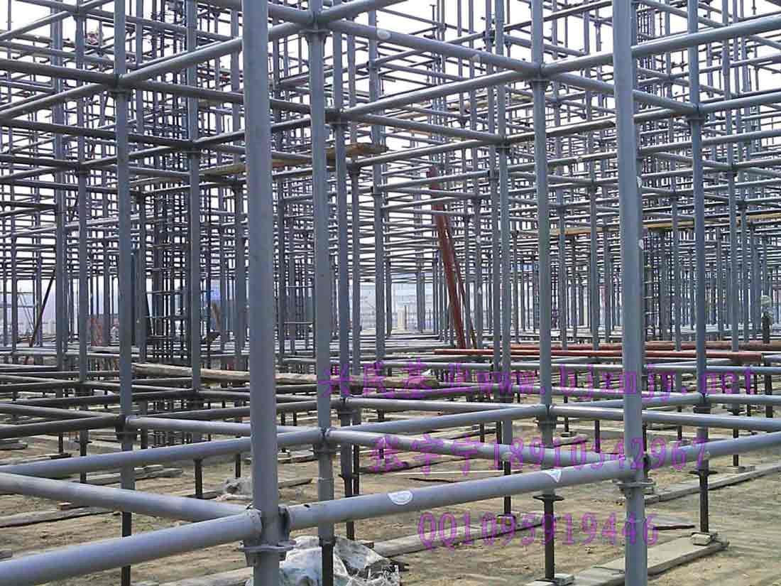 新型钢管支架承插型盘扣式脚手架钢管支架价格:4900元\/吨