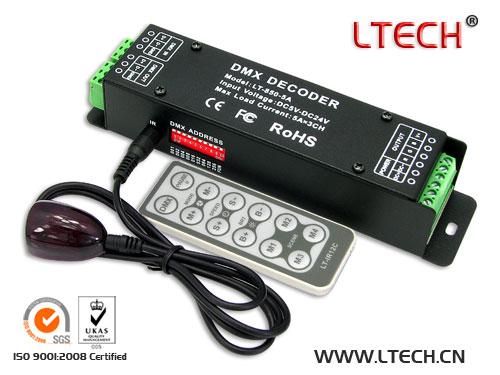 LT-850-5A CV DMX Decoder