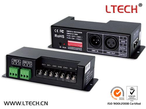LT-830-6A CV DMX Decoder