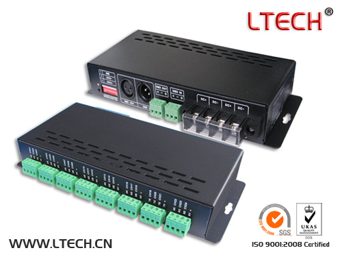 LT-880 24 channels dmx decoder