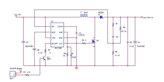 ch1a单节锂电充电ic ch国产5a大功率电源ic ch3a恒压恒流芯片 ch恒压