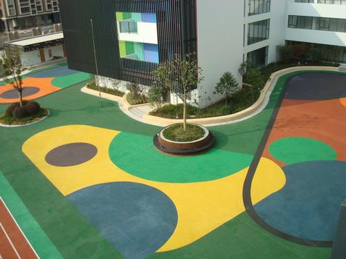 南宁市艾沃德幼儿园安全地垫 价格:120元/平方米