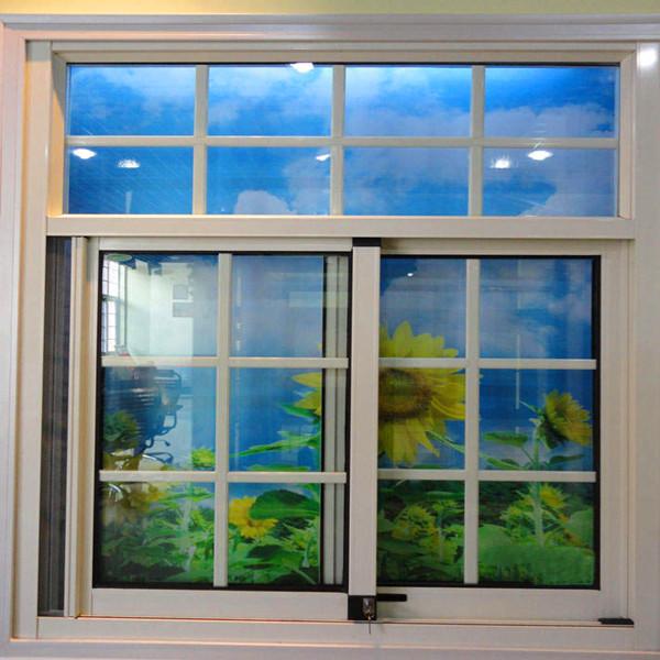 Aluminum sliding window window grill design glass sliding for Window design aluminum