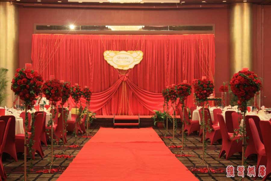 婚礼欧式罗马盆造型