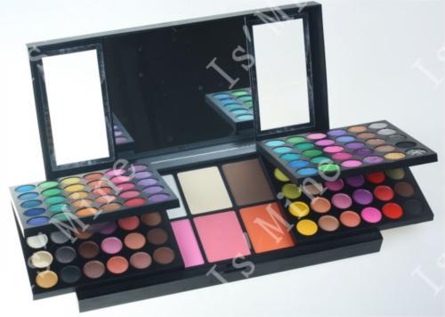 156 Color eyeshadow palette Full eye shadow + Blush + Lipgloss