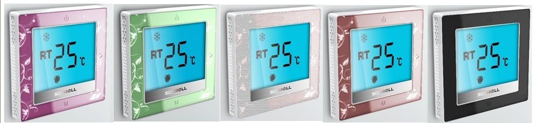 森威尔 t12fhl-7(en)-485数码房间温控器使用说明 森威尔t12