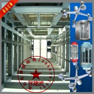 杭州观光电梯钢结构,观光电梯井道