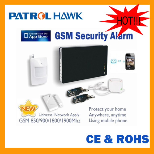 IOS&Andriod app wireless intruder alarm system