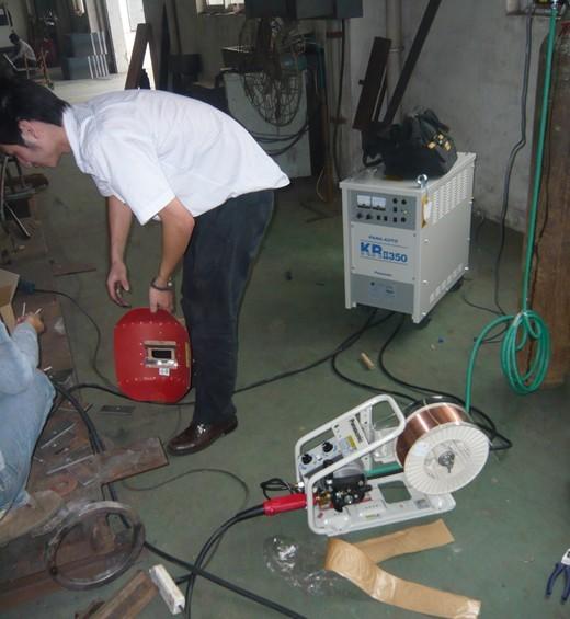 松下全數字二保焊機yd-350gr