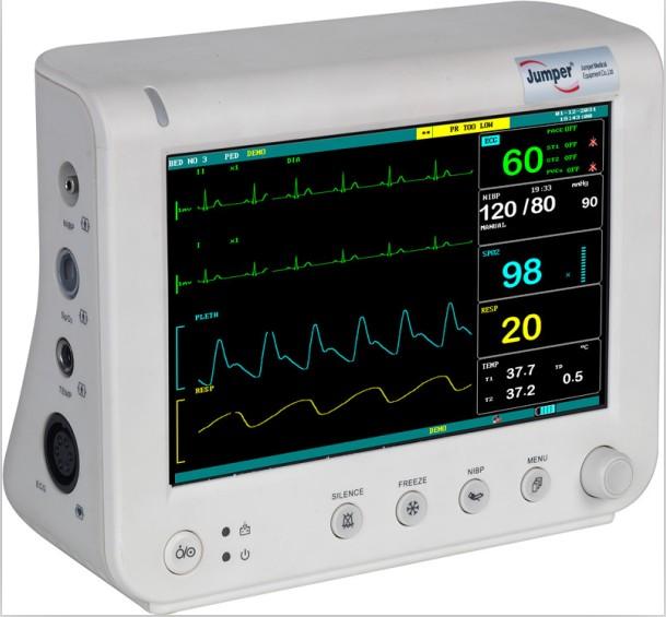 心电监护仪导联位置图解