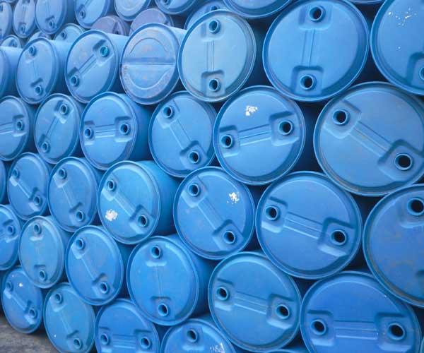 我公司生产的塑料桶以高品质hdpe为原料